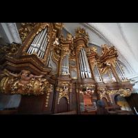 Bamberg, St. Stephan, Orgel seitlich