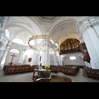 Bamberg, St. Stephan, Altarraum und Orgel