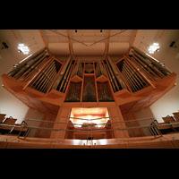 Bamberg, Konzert- und Kongresshalle, Orgel von unten gesehen