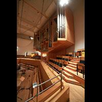 Bamberg, Konzert- und Kongresshalle, Orgel von der seitlichen Empore aus gesehen