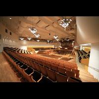 Bamberg, Konzert- und Kongresshalle, Innenraum