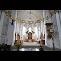 Bamberg, St. Stephan, Altarraum mit Blick zum Chor