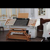 Hamburg, St. Michaelis, ''Michel'' (Krypta-Orgel), Zentralspieltisch