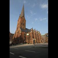 Hamburg, St. Petri, Gesamtansicht außen