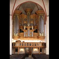 Hamburg, St. Jacobi (Hauptorgel), Orgelempore