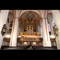 Hamburg, St. Jacobi (Hauptorgel), Schnitger-Orgel und Kemper-Orgel (links)