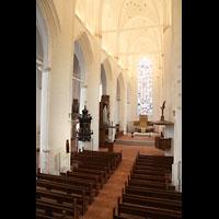 Hamburg, St. Katharinen (Chororgel), Blick von der Sängerempore zur Chororgel