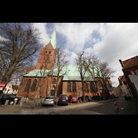 Lübeck, St. Ägidien, Seitenansicht