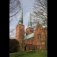 Lübeck, Dom (Hauptorgel), Ansicht von Süden