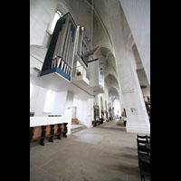 Lübeck, Dom (Hauptorgel), Nördliches Seitenschiff mit Orgel