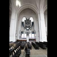 Lübeck, Dom (Hauptorgel), Orgelempore