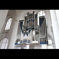 Lübeck, Dom (Hauptorgel), Orgel seitlich