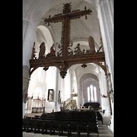 Lübeck, Dom (Hauptorgel), Innenraum in Richtung Westfassade (ehem. Schnitger-Orgel)