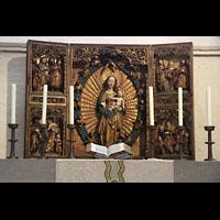 Lübeck, St. Marien (Hauptorgel), Altar