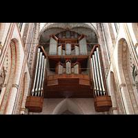 Lübeck, St. Marien (Hauptorgel), Hauptorgelempore