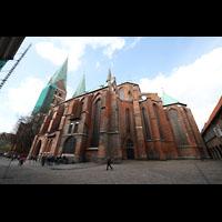 Lübeck, St. Marien (Hauptorgel), Außenansicht mit Chor