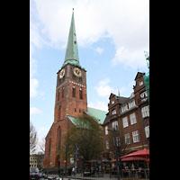 Lübeck, St. Jakobi (Kleine Orgel), Turm
