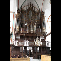 Lübeck, St. Jakobi (Kleine Orgel), Große Orgel an der Westwand