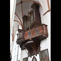 Lübeck, St. Jakobi (Kleine Orgel), Stellwagen-Orgel mit Empore