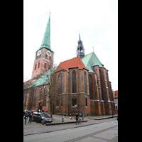 Lübeck, St. Jakobi (Kleine Orgel), Außenansicht