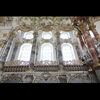 Steingaden - Wies, Wieskirche - Wallfahrtskirche zum gegeißelten Heiland, Altarraum, Nordseite