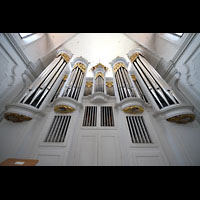 Kempten, St. Mang, Orgel perspektivisch
