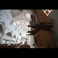 Kempten, St. Mang, Chororgel und Hauptorgel