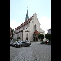 Kempten, St. Mang, Westfassade