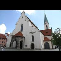 Kempten, St. Mang, Westfassade und Turm