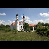 Irsee, Ehem. Abteikirche, Außenansicht