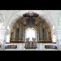Irsee, Ehem. Abteikirche, Orgel