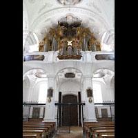 Irsee, Ehem. Abteikirche, Orgelempore