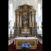 Irsee, Ehem. Abteikirche, Hochaltar