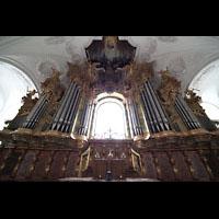 Irsee, Ehem. Abteikirche, Orgelprospekt