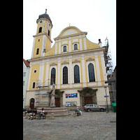 Kaufbeuren, Dreifaltigkeitskirche, Fassade