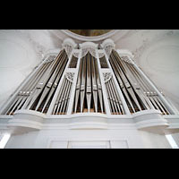Kaufbeuren, Dreifaltigkeitskirche, Orgelprospekt