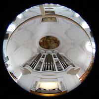 Kaufbeuren, Dreifaltigkeitskirche, Orgel und gesamter Innenraum