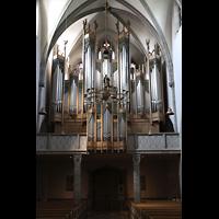 St. Ottilien, Erzabtei, Klosterkirche (Hauptorgel), Hauptorgelempore