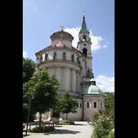 München - Sendling, St. Margaret, Chor von außen