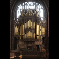 Chester, Cathedral, Orgelprospekt