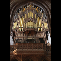 Chester, Cathedral, Orgelempore