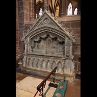 Chester, Cathedral, Grabmal von ?