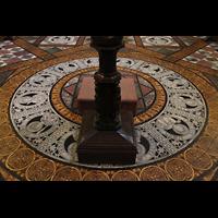 Chester, Cathedral, Boden-Mosaiken im Chorraum