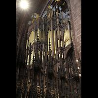 Chester, Cathedral, Orgel, perspektivisch