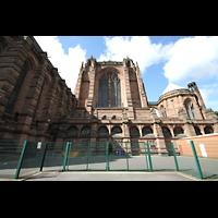 Liverpool, Anglican Cathedral (Hauptorgelanlage), Chor von außen