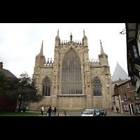 York, Minster (Cathedral Church of St Peter), Chor Außenansicht