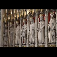 York, Minster (Cathedral Church of St Peter), Linke Figurenreihe des King's Screen