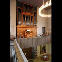 Berlin (Wedding), St. Paul, Empore und Orgel