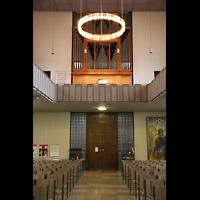 Berlin (Wedding), St. Paul, Orgelempore