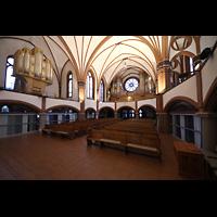 Berlin (Zehlendorf), Pauluskirche (Bach-Orgel), Hauptorgel und Bach-Orgel